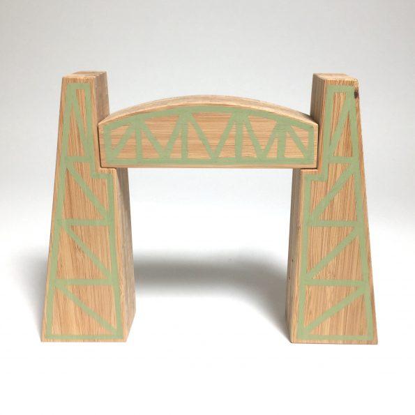De houten Hef