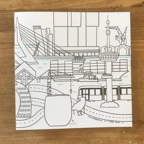 Rotterdam kleurplaat (uitverkocht)
